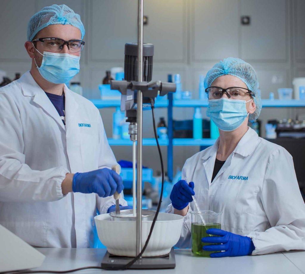 Laboratorio ricerca e sviluppo_Biofarma Group